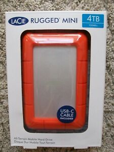 LaCie Rugged Mini 4TB External Mobile Hard Drive