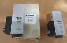 Lot of 2 Festo Vacuum Switch   1/8 port -0.3 to -15 PSI (-0.2 to -1 Bar) 192489