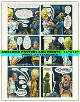 PLAYBOY STORY, LITTLE ANNIE FANNY, CARTOON. DEC 1971, PAGE 3- REPRINT (11x14)
