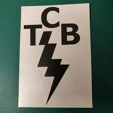 Elvis Presley TCB logo - Vinyl Decal Sticker