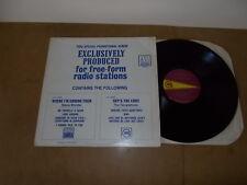 LP VINYL - SPECIAL PROMO RADIO STATION - STEVIE WONDER / THE TEMPTATIONS - USA