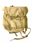 WW2 British 37 Pattern Web Mine Detector Backpack & Straps 1944 Dated