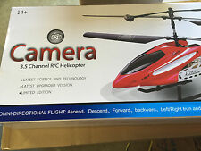 NEW RC Helicopter 3.5 Channel 2.4GHz Metal RC Helicopter w/ Video Camera