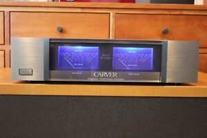 Carver M-500t OEM Style Faceplate GREY with Bezels, Spacers & Hardware!
