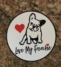 French Bulldog Sticker - Love My Frenchie Dog Breed Paris France Puppy