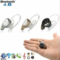 Smallest Wireless Invisible Bluetooth Earphone Earbud Headset for IOS Android
