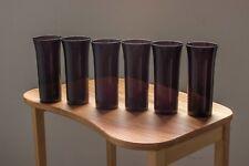 Kaj Franck, Vintage Juice Glass, Six Tumblers, Glassware from Nuutajarvi Iittala