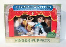 Great Writers Plush Magnetic Finger Puppets Shakespeare Tolstoy Dickens Woolf