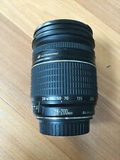 Canon 28-200mm 1 : 3.5 - 5.6 USM Ultrasonic For Repair Or Parts Free Shipping