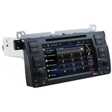 AUTORADIO Android 6.0 BMW E46 Navigatore Gps Comandi Volante Mp3 Bluetooth
