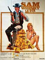 Plakat Kino Sam Whisky Le Hardcase Burt Reynolds Angie Dickinson - 120 X 160 CM