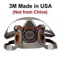 3M Half Facepiece Reusable Respirator 6200/07025 Medium U.S. Seller!