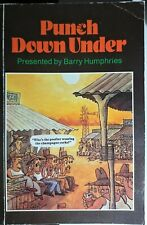 `Punch Down Under` Presented by Barry Humphries Paperback 1984
