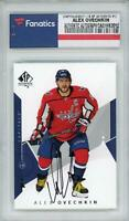 Alex Ovechkin Washington Capitals Autographed 2018-19 SP Authentic #1 Card