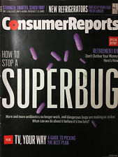 CONSUMER REPORTS Magazine AUGUST 2015 Retirement HOW TO STOP SUBERBUG Anti-Aging