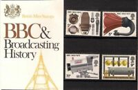GB Presentation Pack 43 1972 BBC & Broadcasting History