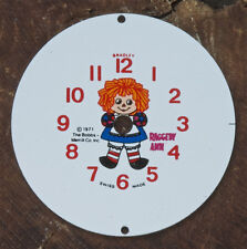 dial 1971 Bradley Time Bobbs-Merrill Co. Vintage Raggedy Ann watch Nos Steampunk