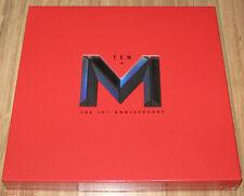 Lee Min Woo M SHINHWA 10TH ANNIVERSARY ALBUM M+TEN K-POP CD + POSTER SEALED