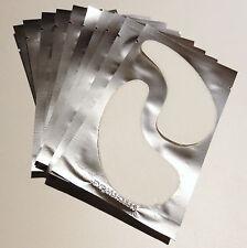 OMG!! 50 Pr Collagen Gel Pads Eyelash Extensions Lint Free Semi Permanent uk
