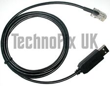 USB to RJ45 programming cable for Icom radios OPC-1122 equivalent - UK Seller