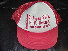 Chimney Park RV Resort Red Hat Baseball Cap