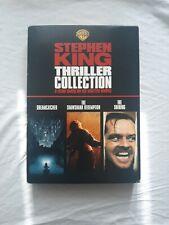 Stephen King Thriller Collection: The Shining Dreamcatcher Shawshank Dvd