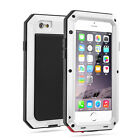 Impermeable Antigolpes Aluminio Gorilla Cristal Metal Funda para iPhone MODELOS