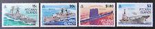 1993 Pitcairn Islands Stamps - Modern Royal Navy Vessels - Set of 4 MNH