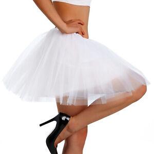 Tutu Skirt Women's Non See-through 4 Layered Tulle Ballet Skirt Rainbow Adult