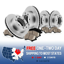 Front and Rear Brake Rotors Ceramic Pads 2007 2008 2009 2010 2011 FORD F250 F350
