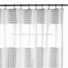 Metro Clear Vinyl Shower Curtain