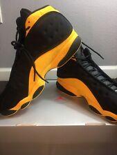Nike Air Jordan 13 Retro Men Melo class of 2002 414571 035 Size 12 Black/Yellow