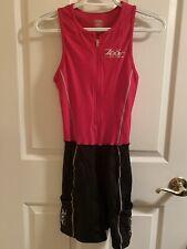 New listing Zoot Women's Tri Triathlon One Piece Medium Black/Red Suit