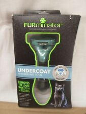 New listing Furminator Undercoat deShedding Tool Small Cat Short Hair deShedder Open