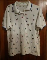 000 Vintage Polo Style Bowling Shirt Colorful Balls & Pins