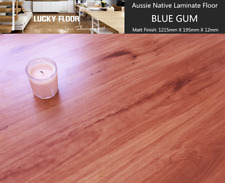 12mm Blue gum Laminate Flooring Floating Timber  Floor boards Click DIY