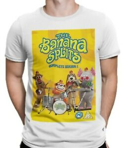 Banana Splits T-shirt 70s 80s 90s Retro Vintage TV Film Movie Classic Comedy