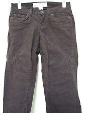 Jeans, L.O.G.G. von h&m, blauer Cord, 5-Pocket, Größe 34, US 4