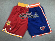 Mens pocket houston rockets Splicing New York Knicks short pants