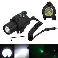 532nm Green Dot Laser/sight+ Combo LED Flashlight/Light/torch fit 4 pistol/gun