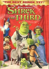 SHREK THE THIRD by DreamWorks - with many extras - DVD NEW & Sealed SHIPS FREE!