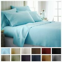 Hotel Collection 6 Piece Premium Ultra Soft Bed Sheet Set by iEnjoy home