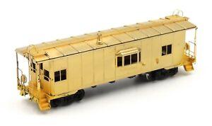 Alco Models Samhongsa Brass HO Scale N-7 N7 Caboose (NYC, PC, Conrail)