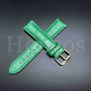 Genuine Leather Wrist Watch Band For Invicta Men's Watch Strap Coloful 12-22 MM