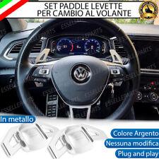 SET LEVE PADDLE PALETTE PER VW GOLF 7 VII CAMBIO AL VOLANTE DSG ALLUMINIO
