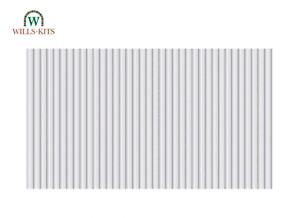 Wills SSMP225 OO Gauge Box-Profile Corrugated Steel Sheets
