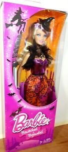 2013 Halloween Barbie Bewitched & Bejeweled Doll Damaged Box