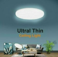 24w Led Surface Mount Fixture Ceiling Light Bedroom Kitchen Round Panel Lights