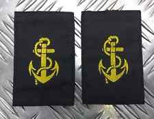 Genuine British Royal Navy RN Leading Rate Anchor Rank Slides Epaulettes EPB40