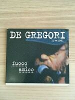 Francesco De Gregori - Fuoco Amico - CD Album Live 2001 - Digipak - Near Mint
